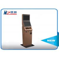 China Customized smart design interactive information kiosk with RFID card on sale