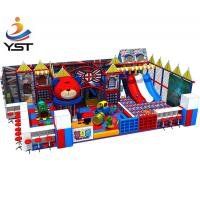 China Multifunction Soft Playground Equipment Inflatable Playground Material on sale