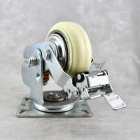 Best 6 Inch Shock Absorbing Casters Isolate Precision Double Ball Bearing wholesale
