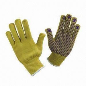 Best Cut Resistance Gloves with Kevlar Dots, Meets EN 388 Standard, Suitable for Handling Metal Sheet wholesale