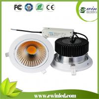 China 3 years warranty 30w COB led downlight with CE ROHS ERP VO FCC on sale