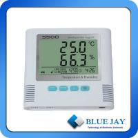 Best LCD display shows temperature and humidity readings data logger with USB / RS232 / RS485 wholesale