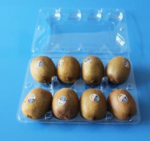 Best Manufactury Disposable plastic fruit packaging punnet Food grade material PET plastic kiwi packaging box FDA EU approved wholesale