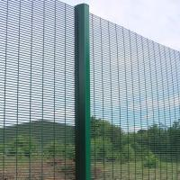 China 358 Safety Welded Mesh Fence , Welded Metal Fence Panels Powder Coated on sale
