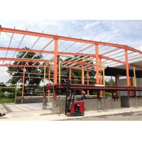 China Industrial Portable Hall Steel Structure Warehouse Prefab Custom Color on sale