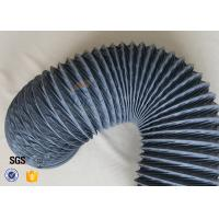 Buy cheap 200 Degree 150mm PVC Coated Fiberglass Flexible Air Ducting For HAVC System from wholesalers