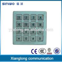 Best Zhejiang Manufacturer Waterproof 4x4 Public Phone keypad B37 wholesale
