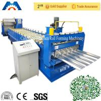 Aluminium Roofing Sheet IBR Roof Panel Roll Forming Machine With PLC Control