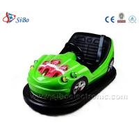 Best Sibo Green Kids Bumper Cars Battery Electric Operated Bumping Cars wholesale