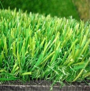 Best 20MM Height  PP+PE GAUGE 3/8 18 STITCHES Density 13650 3 colors anti-UV High Cost-effective Landscape decoration grass wholesale