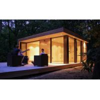 Best Yellow Light Steel Guage Frame Cheap Prefab Garden Studio with Small Size wholesale