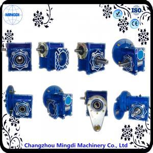 Best Aluminium Alloy 2.6-2379Nm Torque Worm Reduction Gearbox 700w Motor RV Series wholesale