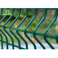 Best Economical Curved 3D Welded Wire Mesh Fence Anti - Climb With 50 × 200mm Holes wholesale