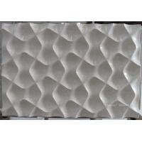 Best Natural beige marble 3d wall panelling wholesale