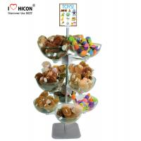 China Toy Store Display Gift Display Ideas Lol Doll Display Stand With Plastic Bowls on sale