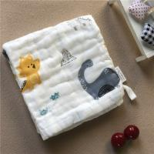 Best Newborn Muslin Face Washcloths All Natural Plain / Seersucker Hypoallegenic wholesale