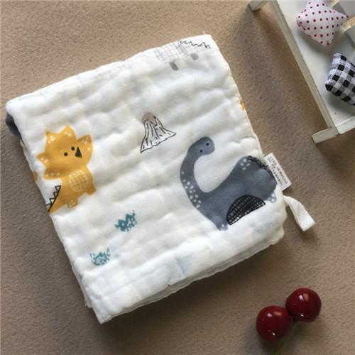 Cheap Newborn Muslin Face Washcloths All Natural Plain / Seersucker Hypoallegenic for sale