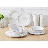 China Eco Friendly White Color Melamine Serving Bowl For Ramen Virtually Unbreakable on sale