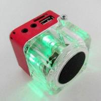 Buy cheap Portable Speaker with Lanyard, Light, FM Radio Function, Supports TF Card from wholesalers