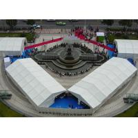 China 1000 People Large Outdoor Canopy Tent , White Party Tent With Anti UV PVC on sale