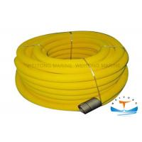 Twill Weaving Marine Fire Fighting Equipment PVC Air Hose Reel Plug - In Structure
