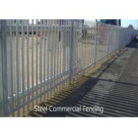 Best 2.4m Height x 2.75m Width Palisade Fencing Panels Powder Coated Black HOt dipped Galvanized wholesale