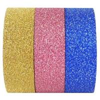 Best The hottest glitter washy tape for gift wrapping and decoration wholesale