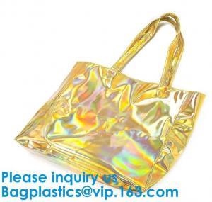 Best Promotional Custom Waterproof Transparent Pvc Beach Bag Sets Shopping Online Women Hand Bag wholesale
