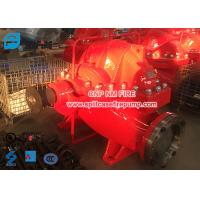 China Firefighting Use Diesel Engine Driven Fire Pump Set , Horizontal Nfpa Pump on sale
