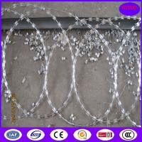 China Low Price High Security Flat Wrap Razor Wire for Prison for Military for Separation on sale