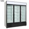 China 1500L Upright Beverage Cooler / Triple Swing Door commercial drink cooler wholesale