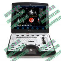China 2010 GE Vivid Q Ultrasound with Cardiac Probe and ECG / Pencil Probe i on sale