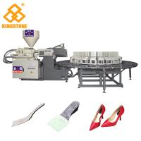 China PP Insole Making Rotary Injection Molding Machine 200-280 Pairs Per Hour on sale