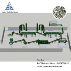 Best 10 Ton/ hour Organic fertilizer granulation machine production line/fertilizer plant wholesale