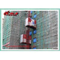 Energy Saving Vertical Rack And Pinion Hoist 2T Capacity For Construction