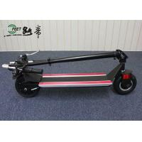 Best High Speed Folding Electric Scooter , Black Foldable Motorized bike for Adults wholesale