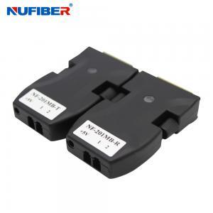 Best 2core Fiber LC To DVI Optical Extender For 4K Video Transmission Receiver wholesale
