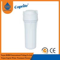China Double O Ring White Cartridge Filter Housing For Home Reverse Osmosis System on sale