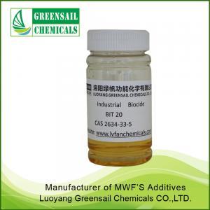 Best BIT 20 Industrial cutting fluid biocide manufacturer wholesale