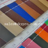 Best Customized New Style PVC Synthetic Leather For Sofa Bag With Polyester Backing wholesale