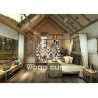 Best Flexible Prefabricated Wooden Homes With Reliable Frame Easy Shipping wholesale