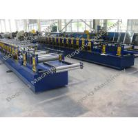 Best Galvanized Steel Purlin Roll Forming Machine Size 9300 * 1400 * 1800mm wholesale