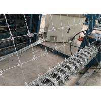 Best Farm And Ranch Grassland Fence Machine Speed 45 - 60 Times / Min High Output wholesale