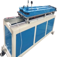China 4-12mm pvc pe pp high speed single wall corrugated pipe production machine line on sale