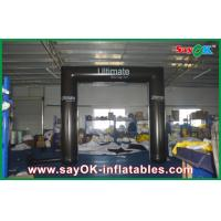 China Black Truss Inflatable Arch PVC Tube Archway With CE / UL Blower on sale