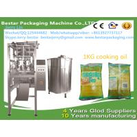 Best Bag  Pouch Vertical Form Fill Seal Machine 1kg cooking oil bestar packaging machine wholesale