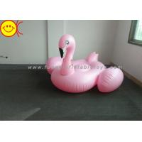 Best Light Weight Inflatable Pink Flamingo , Inflatable Pool Toys For Swimming Pool wholesale