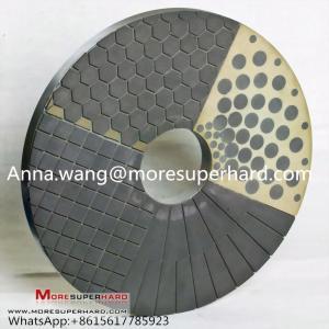 Best CBN Diamond Double Disc Grinding Wheel,double disc grinding,vitrified bond grinding disc Anna.wang@moresuperhard.com wholesale