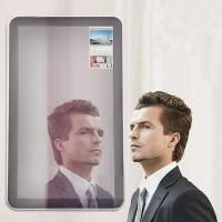 China Automatically FHD Magic Mirror LCD Display Full And Zoom Out Play 32 Inch wholesale