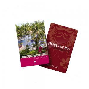 China Rf Plastic RFID Hotel Key Cards Pvc Ic Elevator Door Blank Key Cards on sale